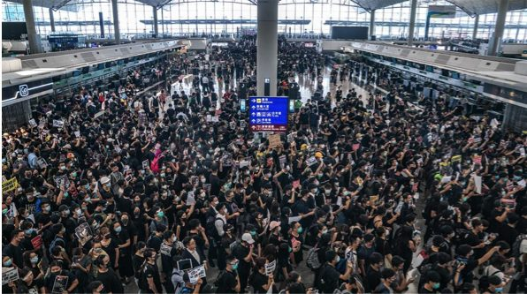 Hong Kong Airport strike enters the fifth day – Several flights cancelled! 67