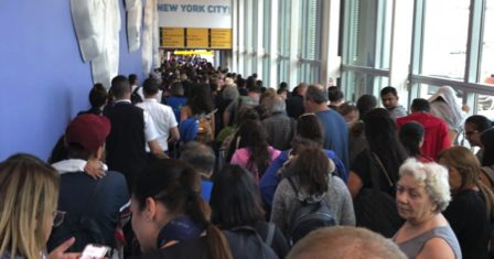 Hundreds of Travellers Stranded at the US Airport 57