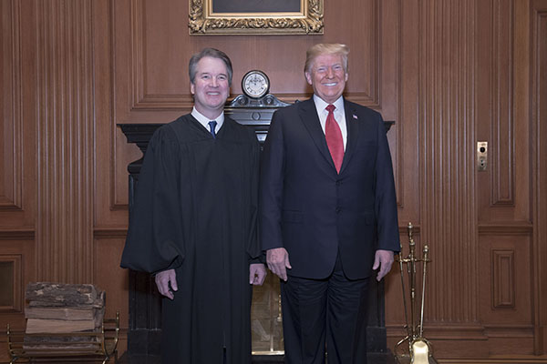Sexual Misconduct  - Pressure mounts on Trump Administration for Impeachment of Justice Kavanaugh 60