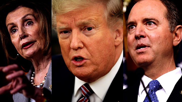 House impeaches President Trump on abuse of power - What Next? 58