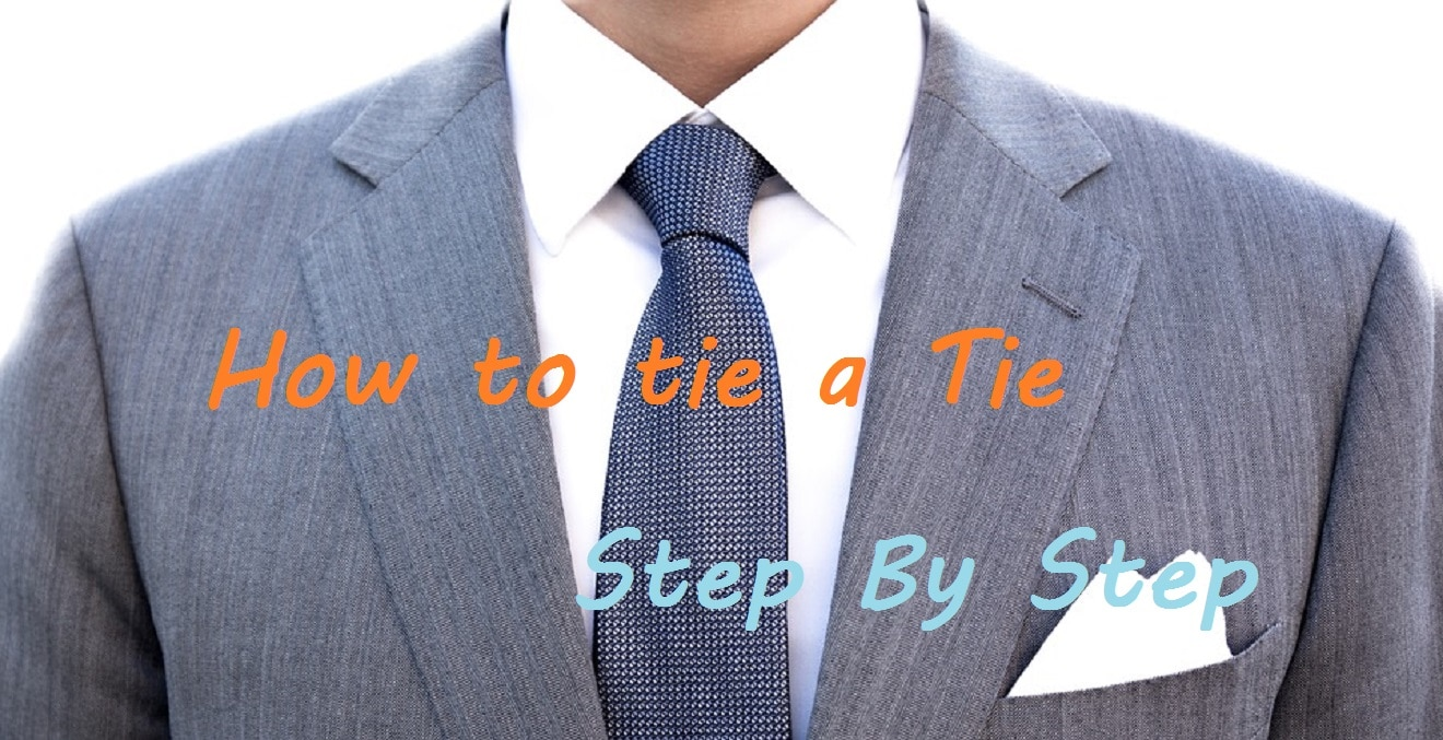 How to Tie a Tie - The easy and best guides for the 3 most popular Tie Knots 10