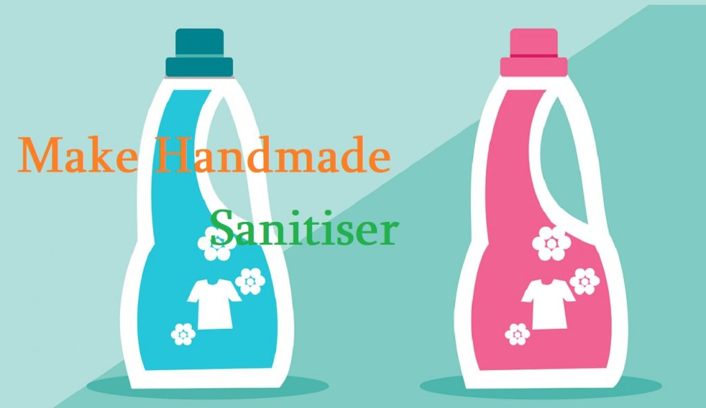 homemade hand sanitiser