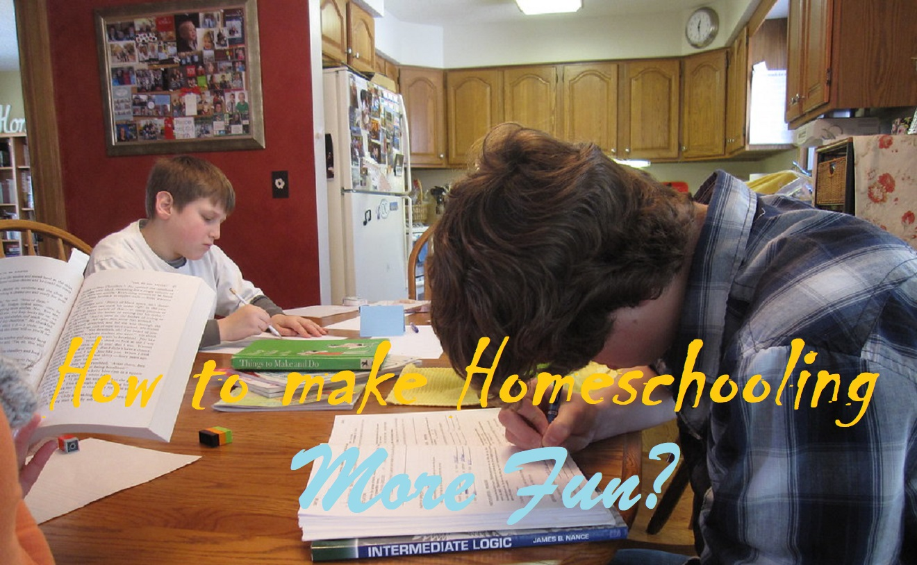 how to make homeschooling fun