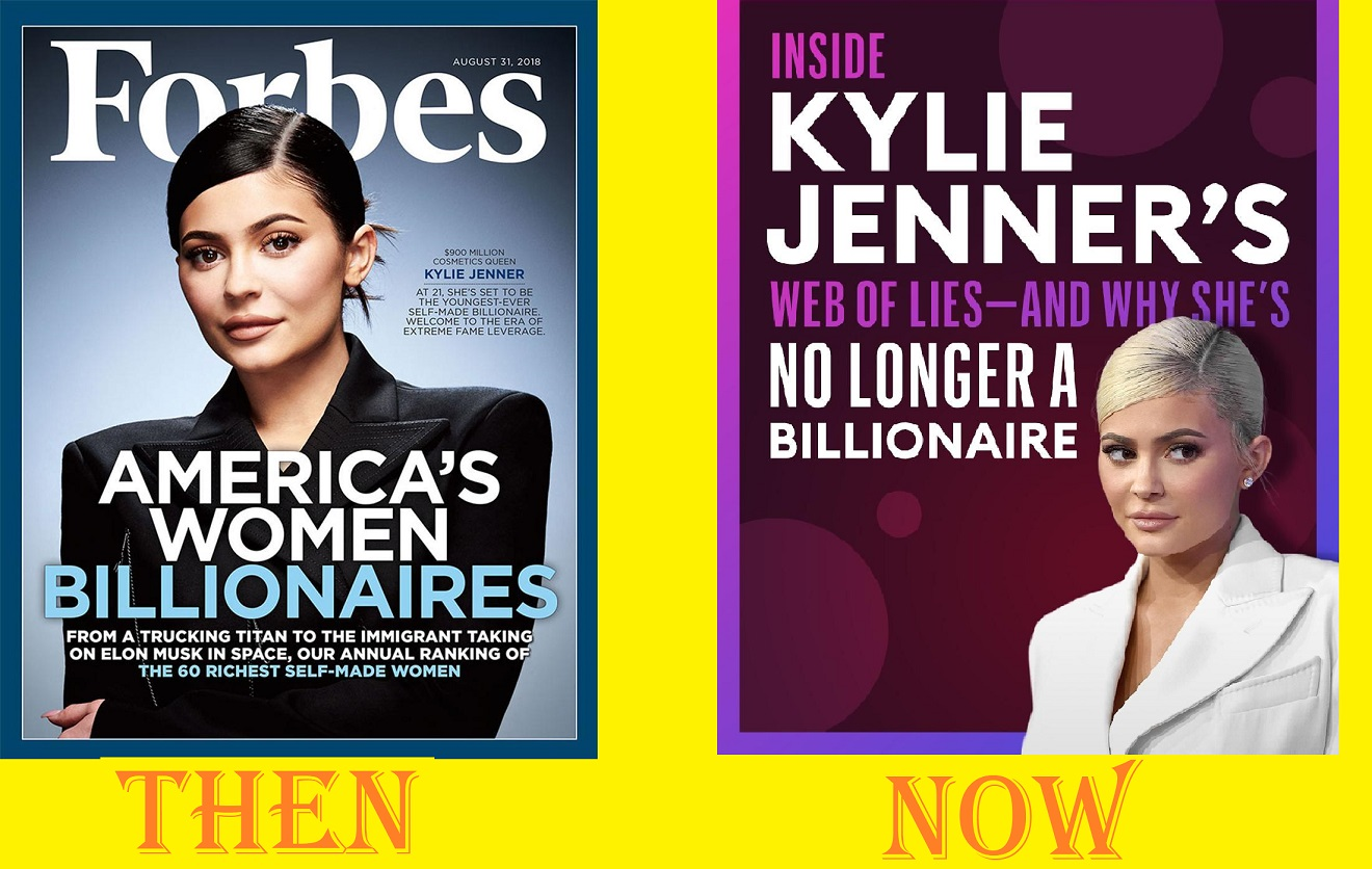 kylie jenner no longer a billionaire