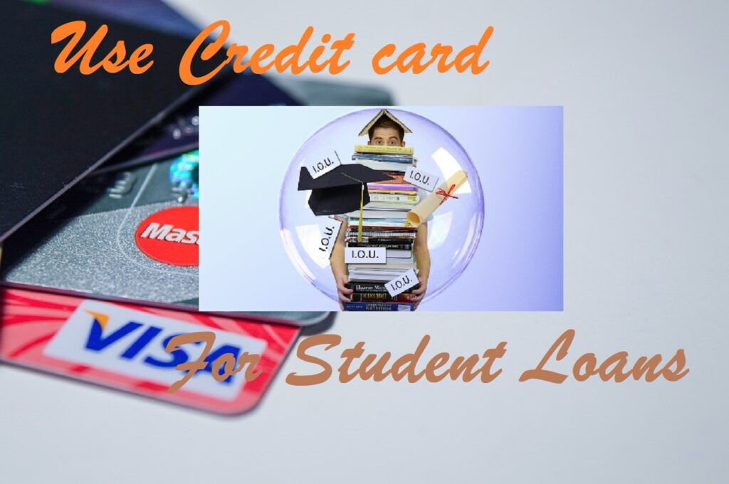 Can you pay for student loans with a credit card