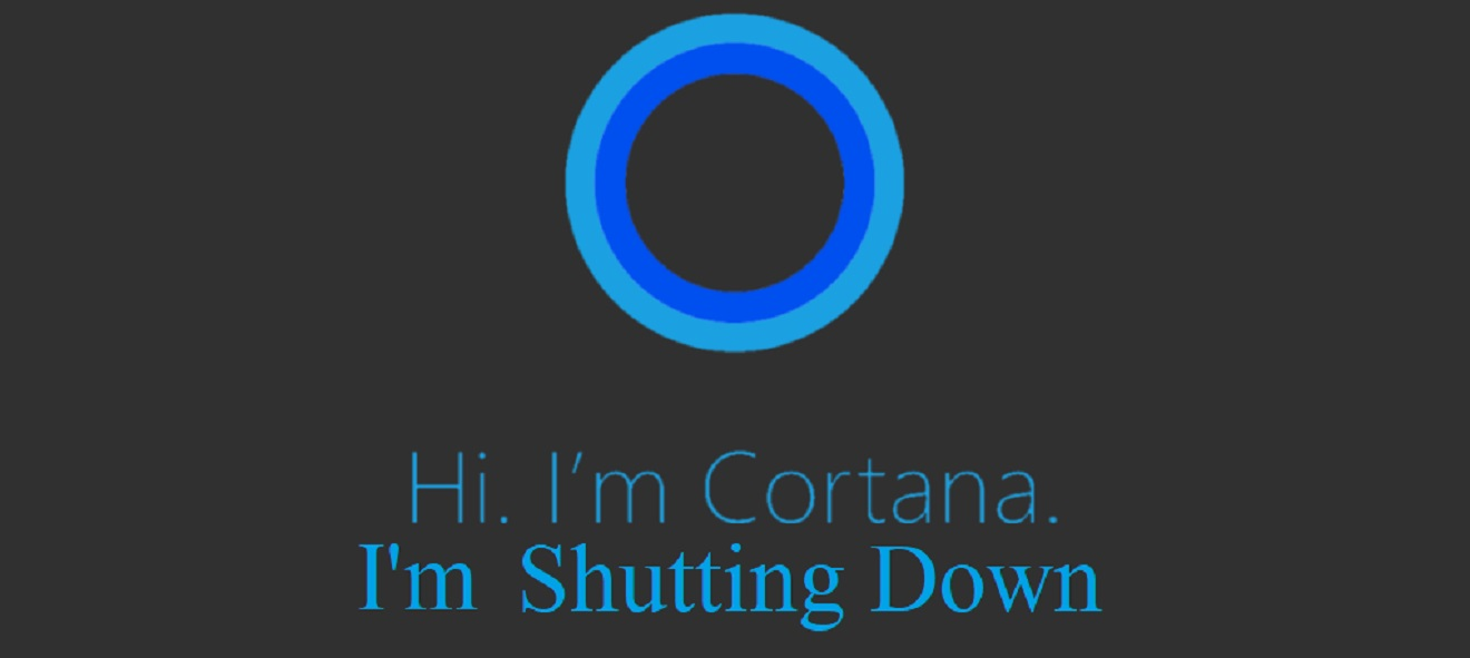 microsoft shutting down cortana