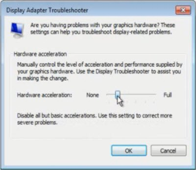 how to disable hardware acceleration
