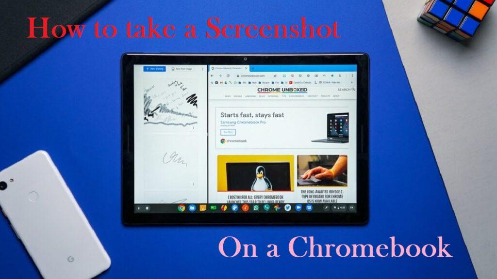 how to take a screenshot on chromebook